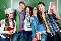 group-of-happy-high-school-students