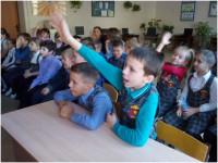 Школьники г. Энгельса на Мастер – классе проекта Город профессий.