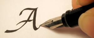 Каллиграфия. Красивый почерк