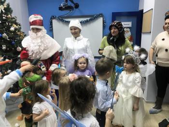 Новогоднее представление в «Аристотеле»